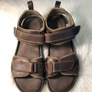 Nwot Rockport Leather Sandals